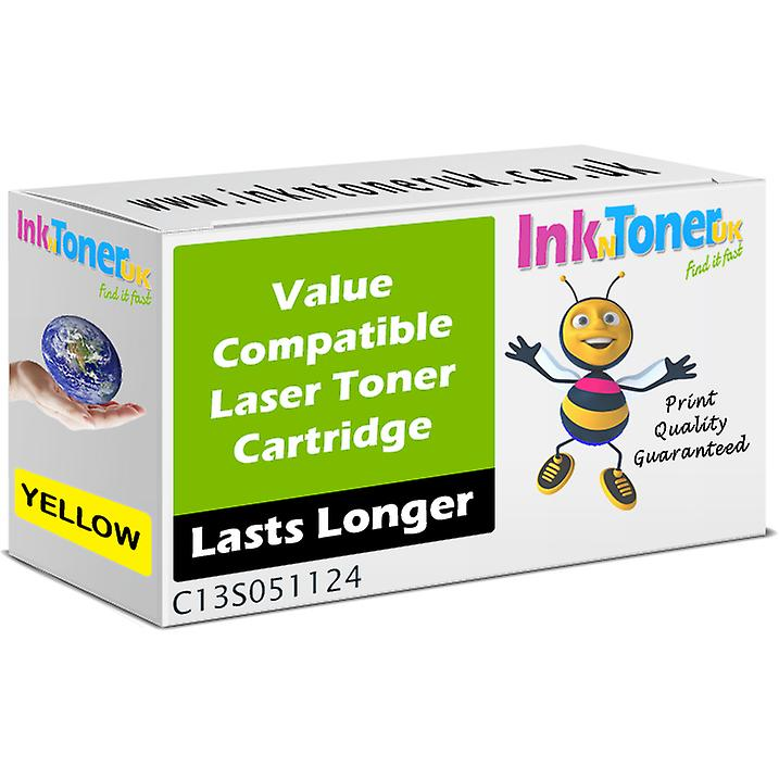 Compatible S051124 jaune C13S051124 Toner for Epson Aculaser C3800DTN