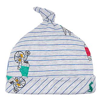 Joules Baby Koo G Single knoop hoed grijs Bear Stripe