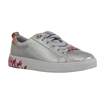Ted Baker Womens Trainer Luoci Silver