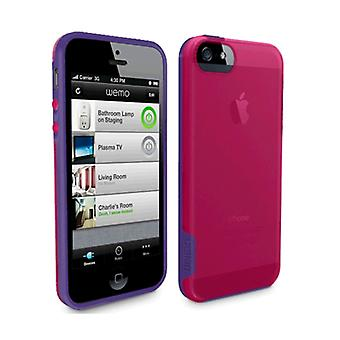 Belkin grep Candy sak for iPhone 5c (Fushia/lilla)