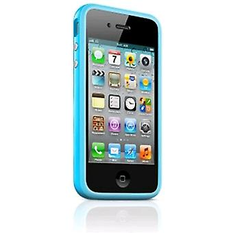 5 Pack -Apple Bumper Case for Apple iPhone 4/4S - Blue