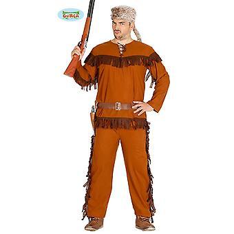 Trapper costume mens Brown costume of Mr Hunter Ranger