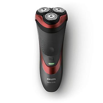 Philips S3580-06 Rechargeable Wet & Dry 3 Head Rotary Shaver with Pop-Up Trimmer