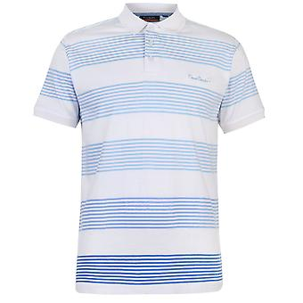Pierre Cardin Mens C Fad Stp Polo Shirt Classic Fit Tee Top
