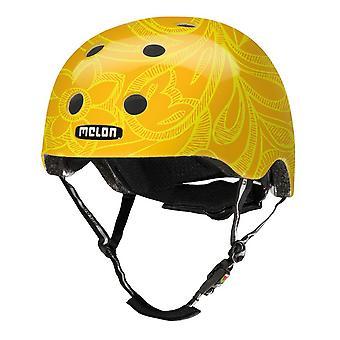 Дыни городские активные история мотоцикл шлем / / мягкий желтый