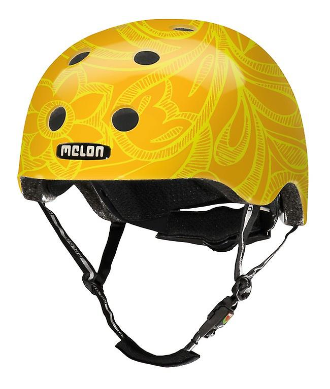 Casque de vélo urbain histoire active melon     melFaible jaune