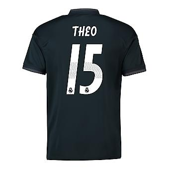 2018-19 Real Madrid Away Shirt (Theo 15) - Kids