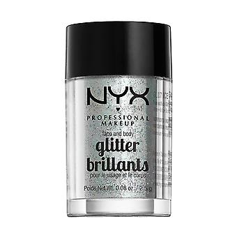 NYX Prof. Make-up Gesicht & Body Glitter-07 Ice 2, 5 g