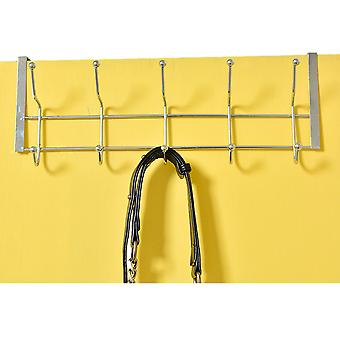 CHROME DOOR 6 X 2 HOOKS