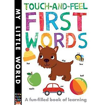 Touch-and-Feel First Words - A Fun-Filled Book of First Words by Libby