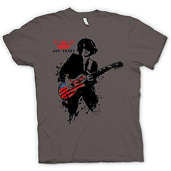 Mens T-shirt - Aerosmith - Joe Perry - Guitar
