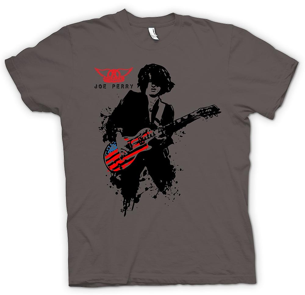 Womens T-shirt - Aerosmith - Joe Perry - Guitar