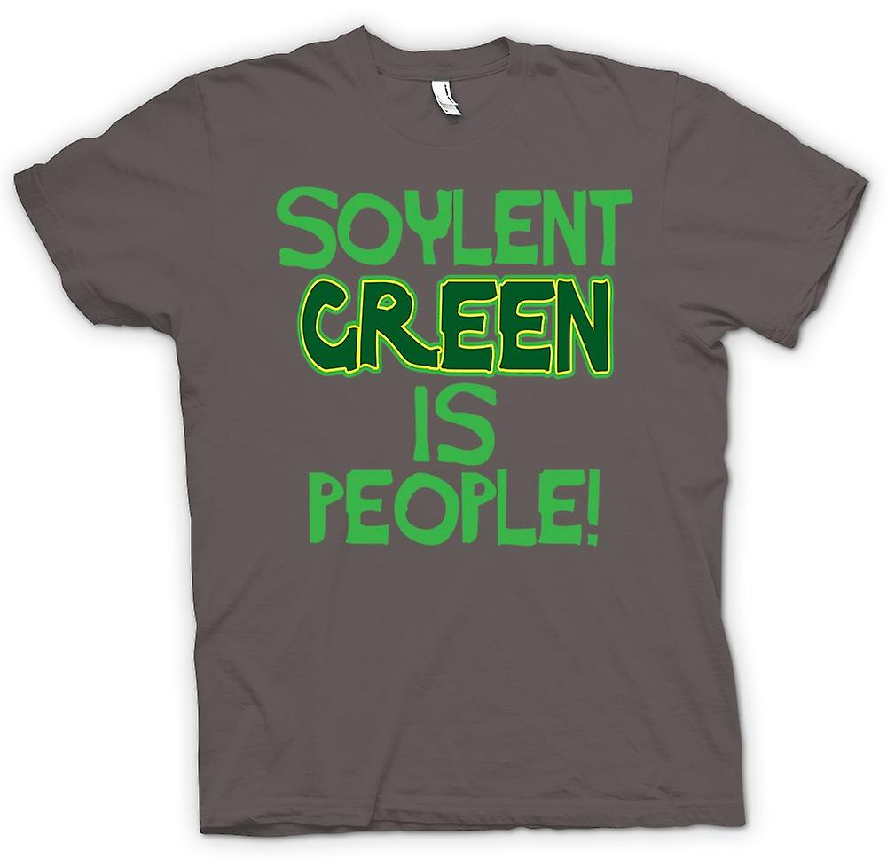 Womens T-shirt-Soylent Green ist People - lustig