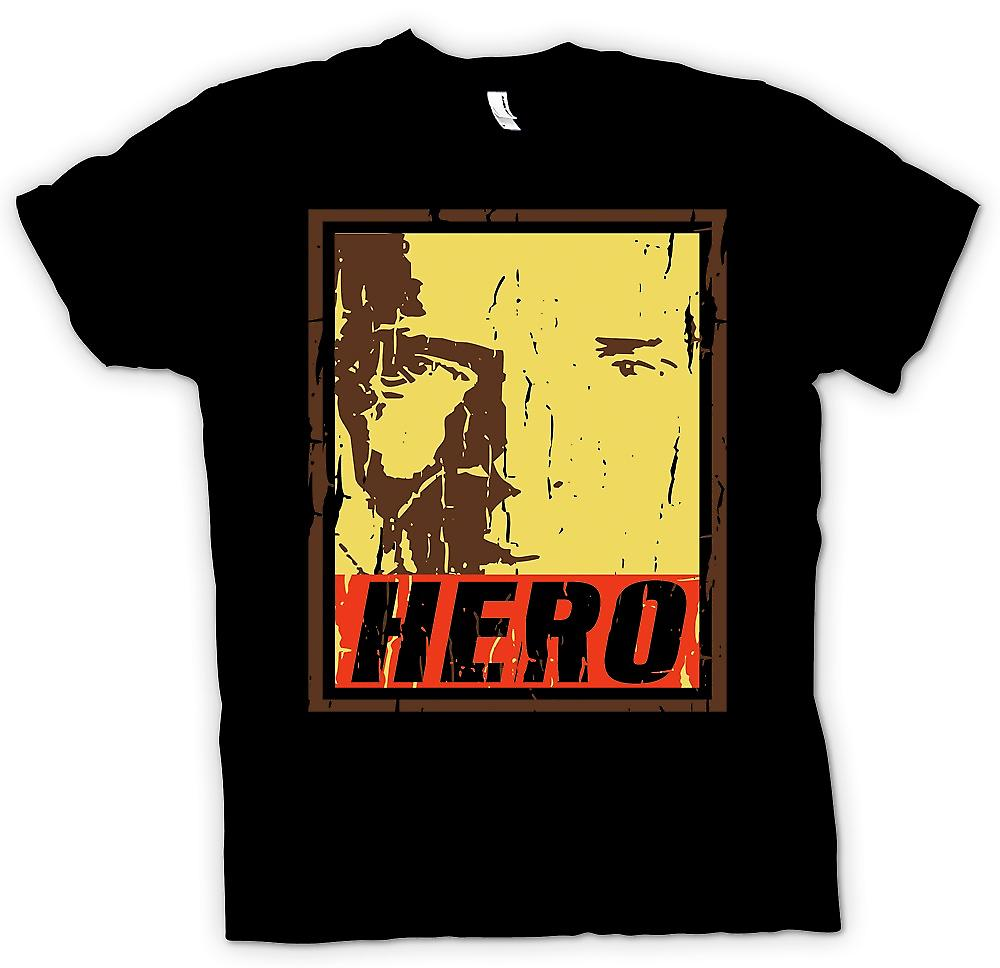 Heren T-shirt-Brody - Hero - vaderland