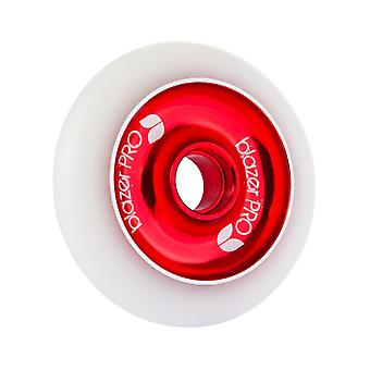 Blazer Pro White-Red Core - 100mm Single Scooter Wheel