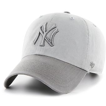 47 fire relaxed fit Cap - CLEAN UP New York Yankees grey