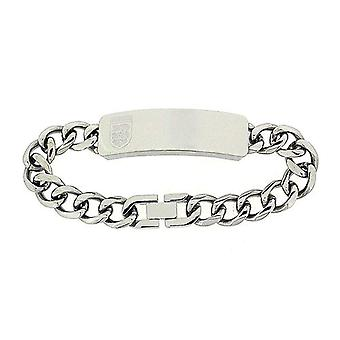 Official Licensed England Crest Gents ID Bracelet In Presentation Box 8.25