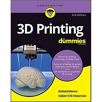 3D udskrivning For Dummies (For Dummies (computere))