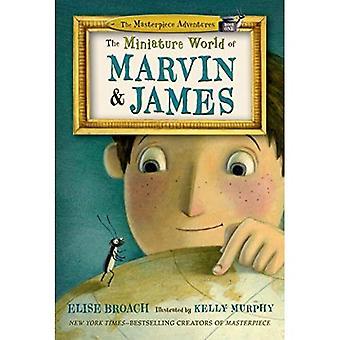 Världens miniatyr av Marvin och James (mästerverk Adventures)
