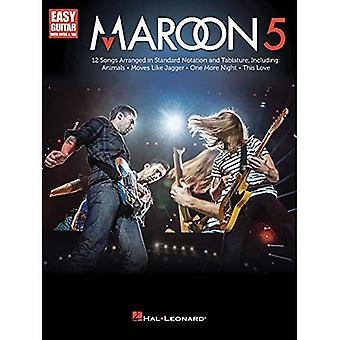 Maroon 5 Easy Guitar with Notes & Tab Gtr Book