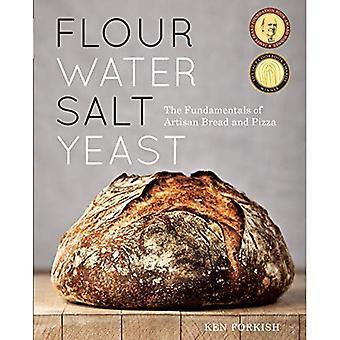 Mjöl vatten Salt jäst: Grunderna i hantverkare bröd och Pizza