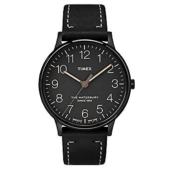 Timex Analog quartz men's watch with leather TW2P95900