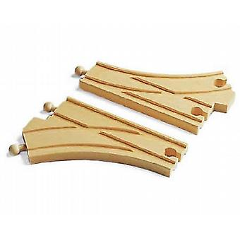 BRIO Curved switching tracks Wooden Toy