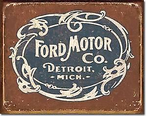 Ford Historic Logo metal sign