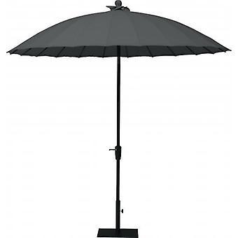 4SO parasol Shanghai 250 cm charcoal