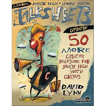 リン ・ デビッド ジュニアの青年グループの 50 より創造的な議論を中学生以上・中学生 TalksheetsUpdated