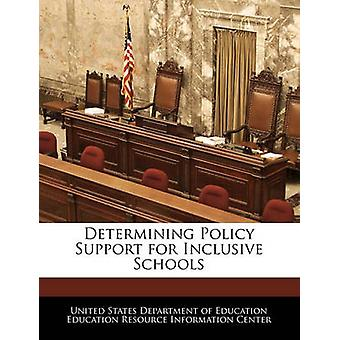 Determining Policy Support for Inclusive Schools by United States Department of Education Ed