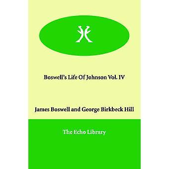 Boswells liv af Johnson Vol. IV af Boswell & James
