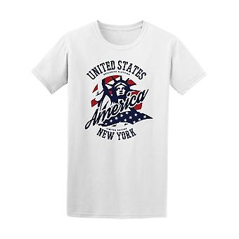 Liberty Statue United States Tee Men's -Image by Shutterstock