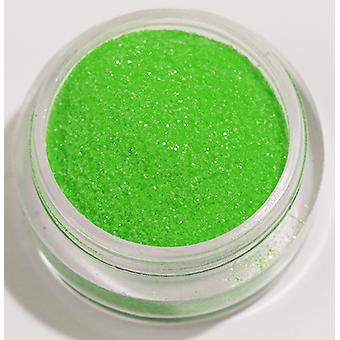 1pc fijn glitter Neon licht groen