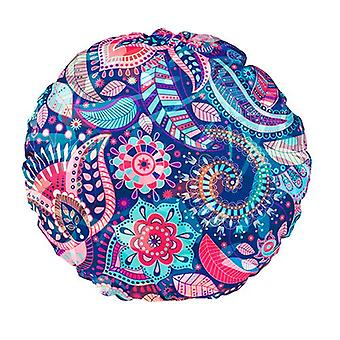 Gardenista® Delhi Design Water Resistant Round Scatter Cushion