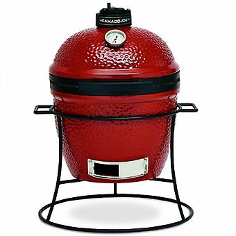 Kamado Joe Junior Ceramic Barbecue Smoker - Red