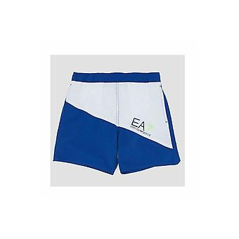 EA7 Boys Boys EA7 Blue Swim Shorts
