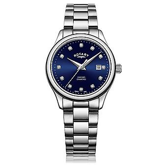 Rotary | Women's Oxford | Stainless Steel | Blue Sunray Dial | LB05092/05/D Watch