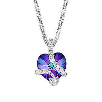 Elli Silver Pendant Necklace 925 with Swarovski Crystals 0106231714_45