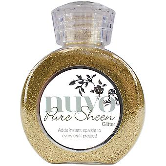 Nuvo Pure Sheen Glitter 3.38oz-Light Gold NPSG-707