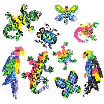 Perler Fun Fusion Fuse Bead Activity Kit Rare Bugs 'N Birds 80 55997