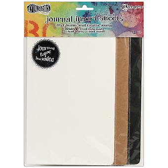 Dyan Reaveley's Dylusions Journal Inserts Assortment 12/Pkg-Small DYA49111