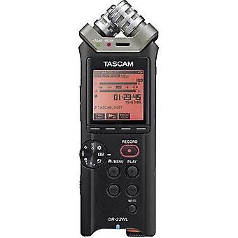 Portable audio recorder Tascam DR-22WL Black