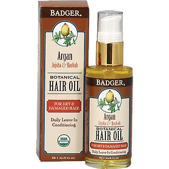 Badger Balm Argan, Jojoba & Baobab Hair Oil