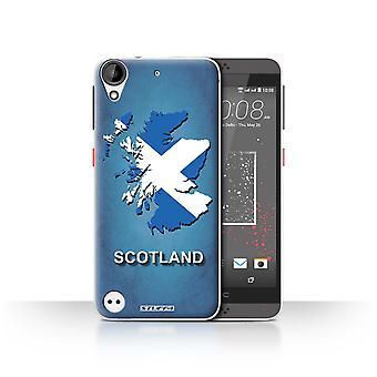 STUFF4 Case/Cover for HTC Desire 630/Scotland/Scottish/Flag Nations