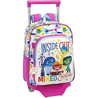 Safta Children Backpack With Wheels Inside Out (Toys , School Zone , Backpacks)