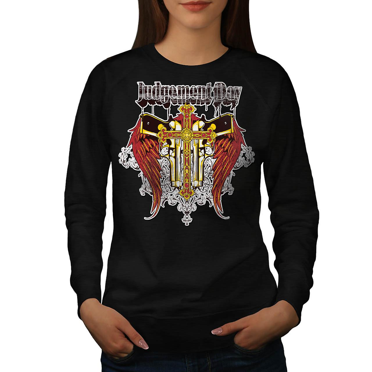 Judgement Day Hell Devils Lair Women Black Sweatshirt | Wellcoda