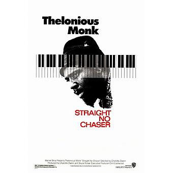 Thelonious Monk Straight No Chaser Movie Poster Print (27 x 40)