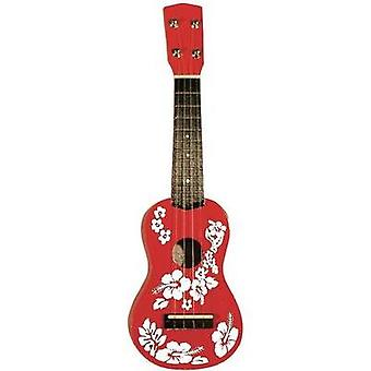 Ukulele MSA Musikinstrumente UK 31 Red, White