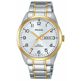 Pulsar Gents Two Tone PJ6064X1 Watch